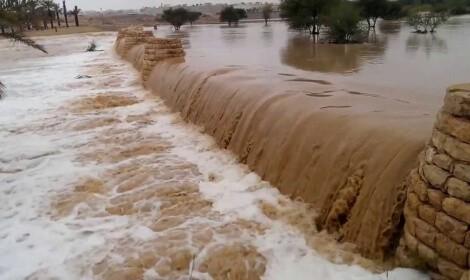 تصريف مياه السيول